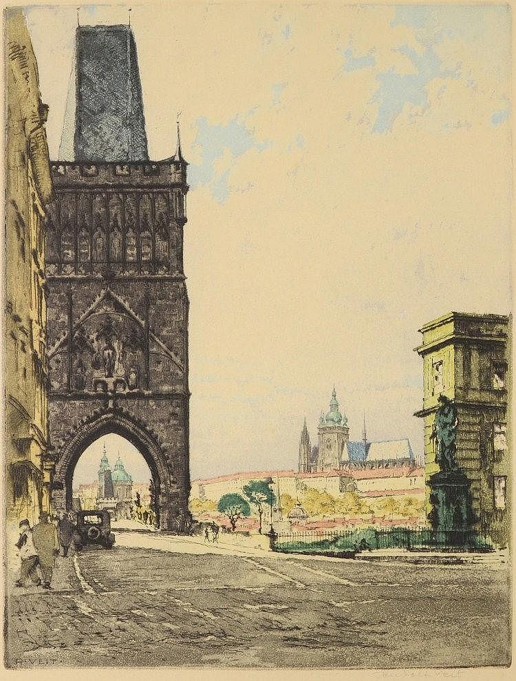 Rudolf Veit (1892-1979) KŘÍŽOVNICKÉ SQUARE