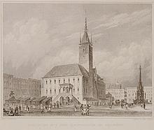 Johannes Poppel TOWN HALL IN OLOMOUC. 19th