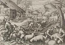 Jan Sadeler (1550-1600), attributed