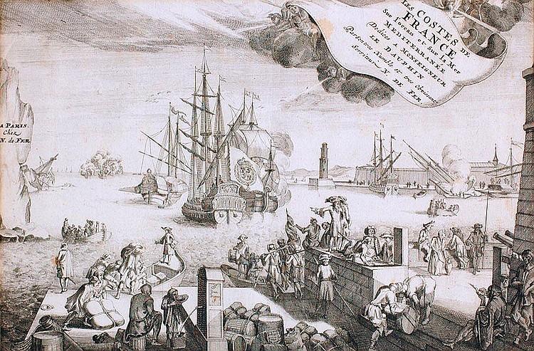 Jan van Vianen (1660 - 1726), Nicolas de Fer (1646 - 1720)