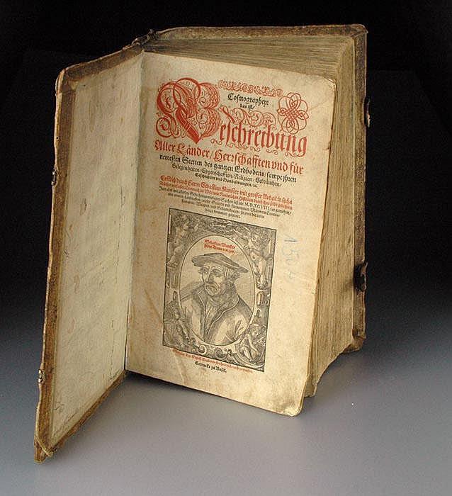 SEBASTIAN MÜNSTER (1488 -1552), COSMOGRAPHIA,