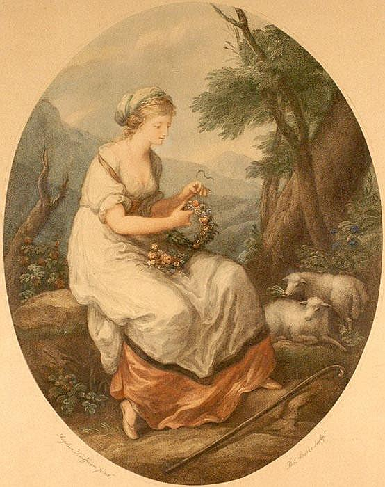 THOMAS BURKE (1749-1815), KAUFFMAN ANGELICA