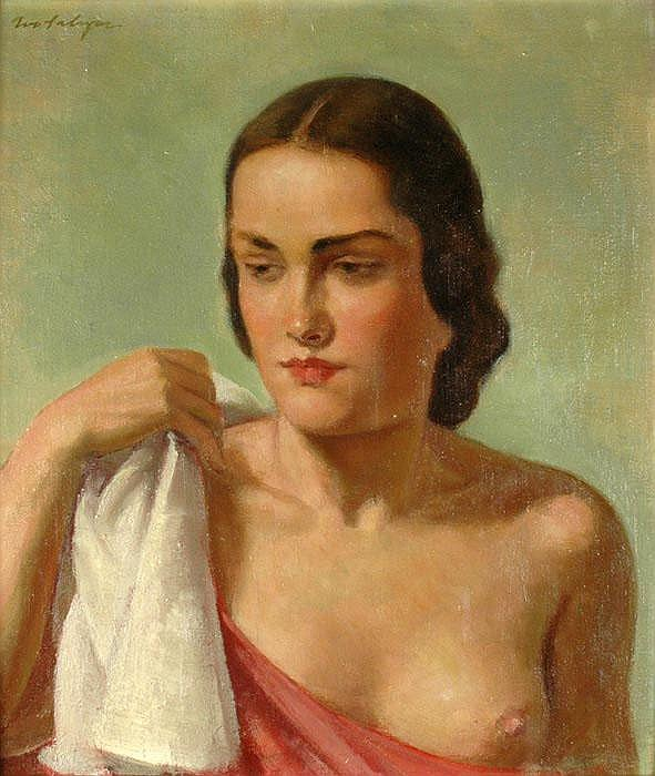IVO SALIGER (1894-1987), Nudity. Portrait of a