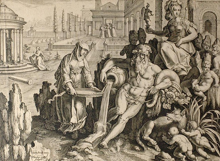 THEODOR GALLE (1571-1633), JOHANNES STRADA