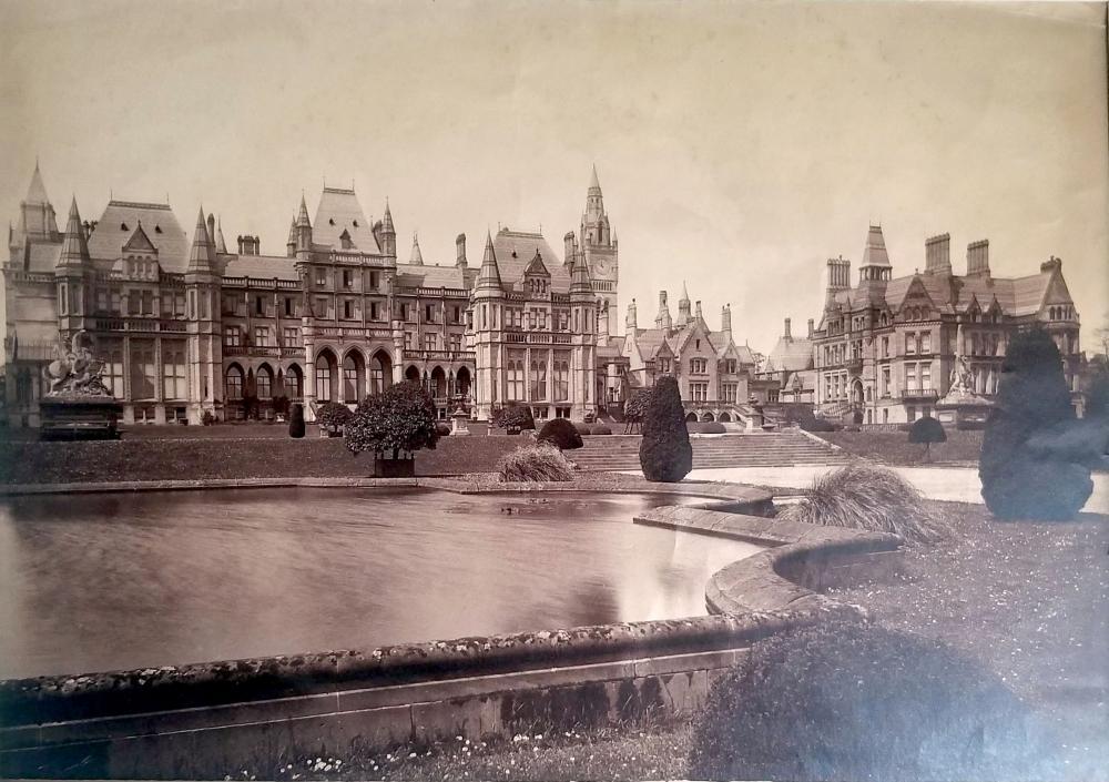 Francis Bedford: Eaton Hall, Cheshire 1880s Albumen Silver Print