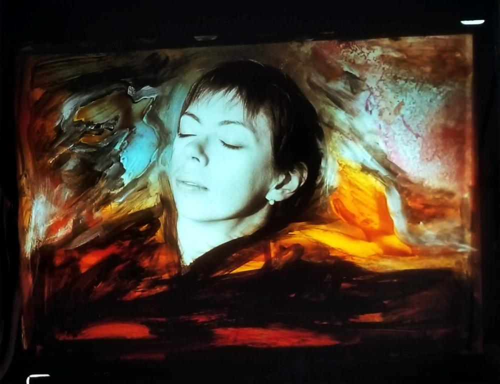 Barbara Hershey: Dreams of Fire & Flight 1989 Photograph, Cibachrome