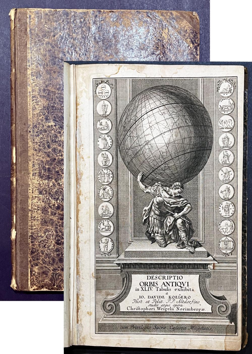 Johann David Koehler: Descriptio Orbis Antiqui in XLIV Tabulis, 1720
