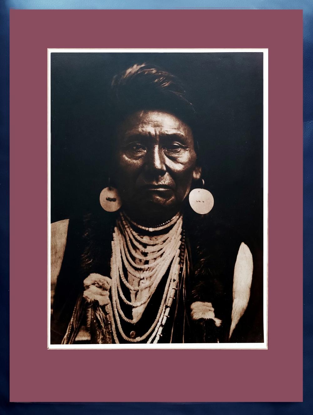 Edward S. Curtis: Chief Joseph Nez Perce, 1900 Printed by Jean-Anthony du Lac, 1974