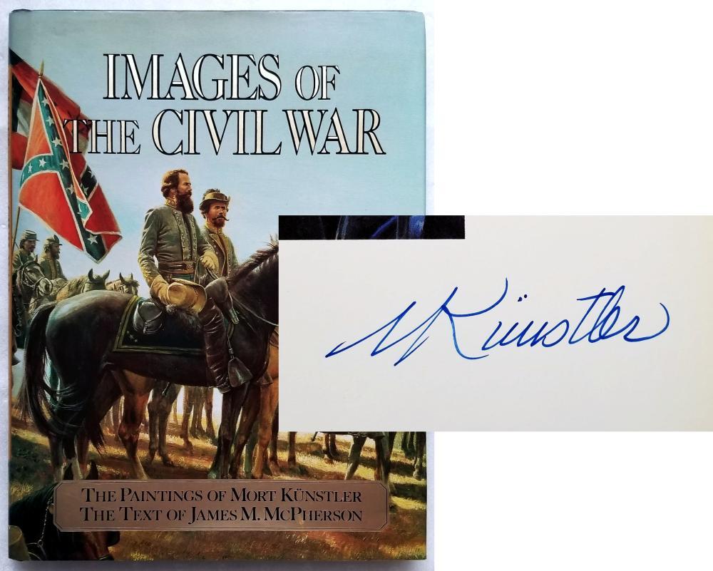 Mort Kunstler (Signed): Images of The Civil War 1992 First Edition