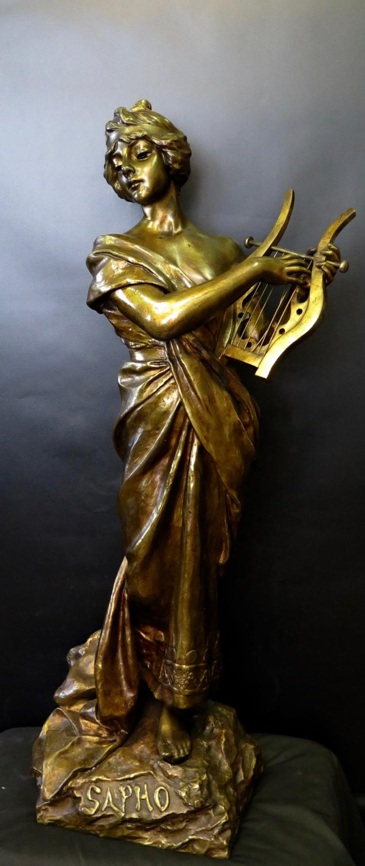 Vintage Bronze Sculpture,
