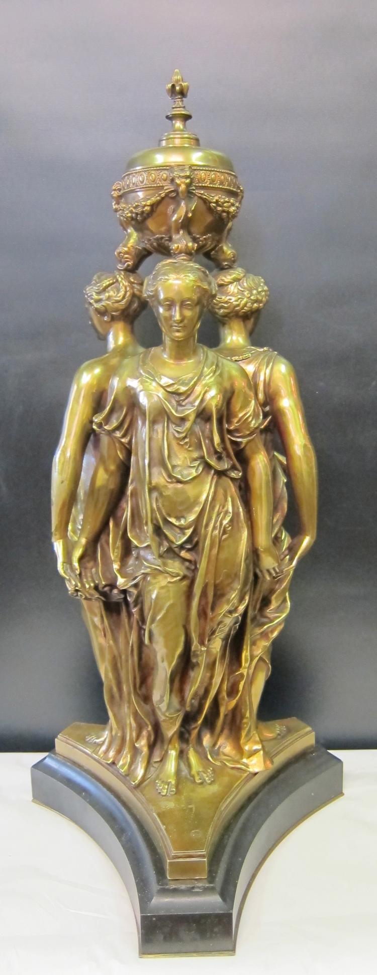 Three Graces, Bronze