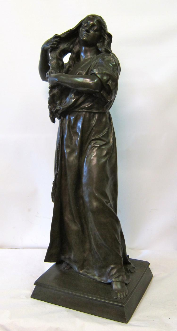 Bronze Lady by E. Peynot
