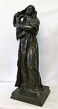 Bronze Lady by E. Peynot