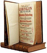 Chronicon Helveticum, Aegidius Tschudi,  Chronicon Helveticum,  herausgegeb