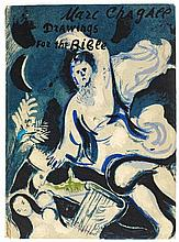 Chagall-Bibel, Marc Chagall. Dessins pour la bible. Verve 37-38. Paris 1960