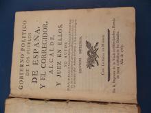 AN ANTIQUE SPANISH BOOK