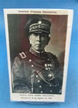 PHOTOGRAPH PORTRAIT OF GENERAL JUAN ANGEL GOLFARINI