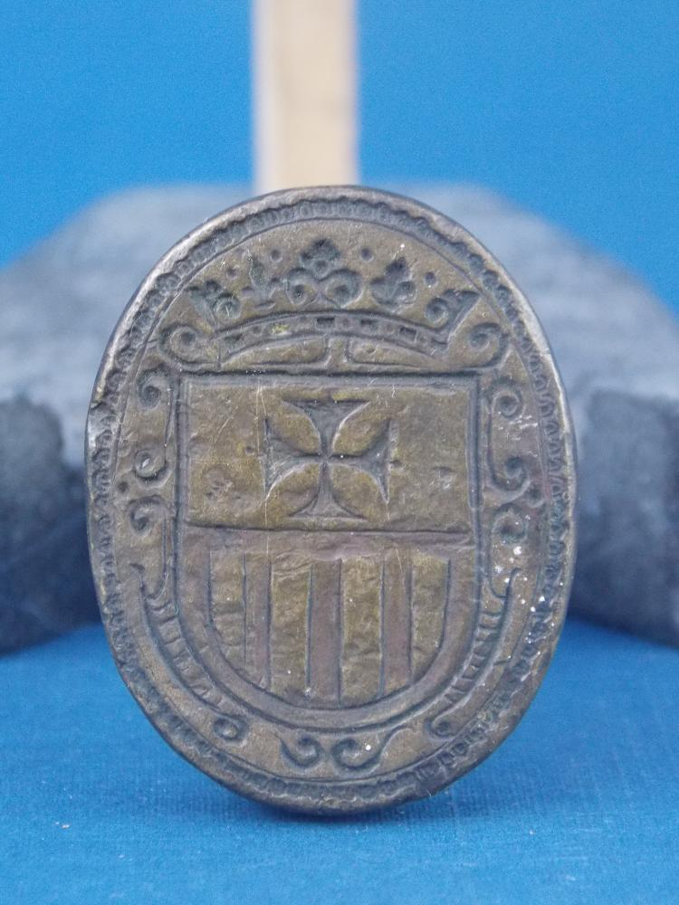 FOUR ANTIQUE SEAL STAMPS