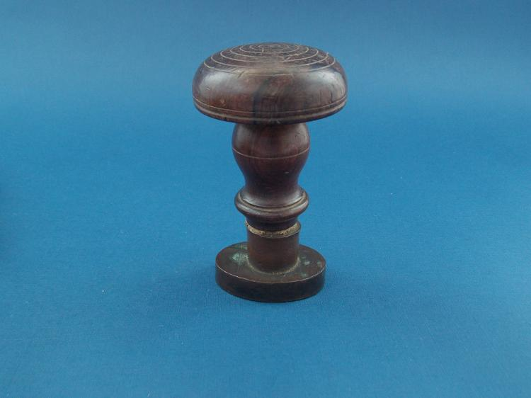 ANTIQUE BRONZE SEAL STAMPS