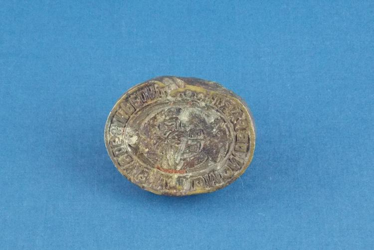 AN ANTIQUE SPANISH SEAL STAMP