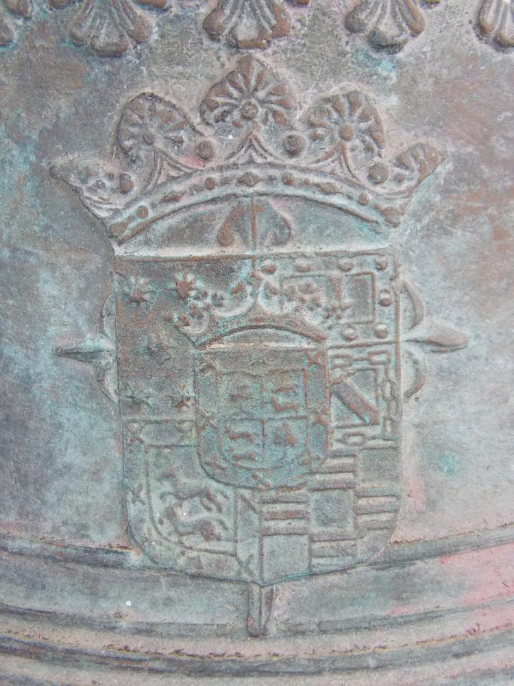 A CAST BRONZE BELL