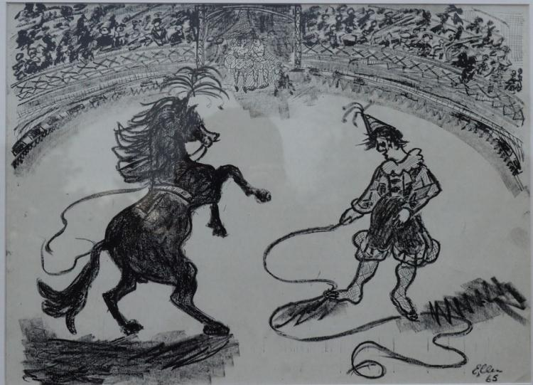 Bottenheim-Niemer, Ellen (1911-) - Circus 1965