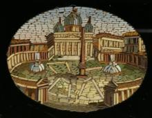 Sint Pieter Rome ca 1830 Italy