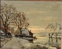 H. Voerman (Dutch 20e) Winter