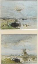 Weissenbruch, Willem (1864-1941), Riviergezicht (2)