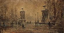 Wingen Jan (1874-1956) Winter in the city