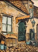 Bervoets 20e eeuw A small street