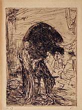Bauer  Marius (1867-1932) Donkey-driver near Istanbul
