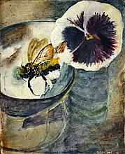Newcomb  Tessa (England 1955) Pansy and Bee 1979