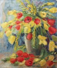 Hosman  Ben 20e eeuw Summerflowers