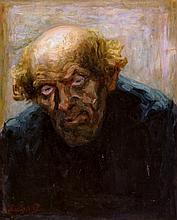 Groot  Maurits de (1880-1934) Portait of a dutch farmer  een erfgooier