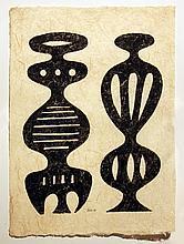 Peter  Geni (1909-1969) Absract 1960