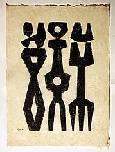 Peter  Geni (1909-1969) Abstract 1961