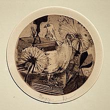 Olivier  Pim (1938) Chickens 1979