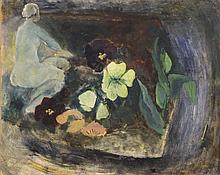 Newcomb  Tessa (Engeland 1955) Pansy Bed