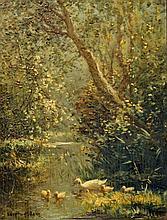Artz  Constant (1870-1951) Little ducks