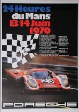 Atelier Strenger 20e eeuw 24 Heures du Mans 13/14 juin 1970 Porsche