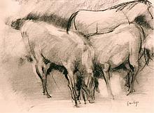 Geerligs  Geert (1919-1989) Horses (2)
