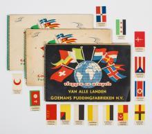 Goemans Puddingfabrieken N.V. - Vlaggen en wimpels van alle landen