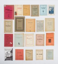 [Anarchy. Italy] Lot with 27 Italian ephemeral publications,