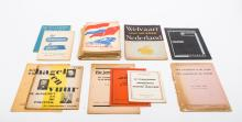[Socialism and communism] Collection of 25 ephemeral publications and a photo report,