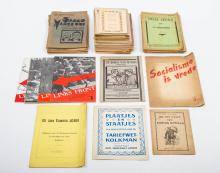 [Socialism and communism] Collection of more than 60 ephemeral publications,