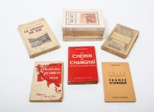 [French colonies. With dedications] Lot with 9 works in French,