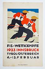 [Skiing] Johannes Troyer (1902-1969)