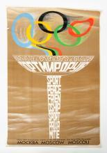 [Russia] Three posters: (1) Alexsandr Archipenko (1887-1964) (design?)