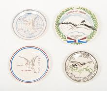 [Aviation] Commemorative plates Uiver with Ooievaar